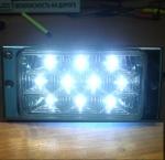 ПТФ для LADA 2110-2116 карбон со светодиодами. Код PL519DLС.