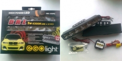 8)  Фары дневного света DRL-230P6 Ходовые огни EGOLight