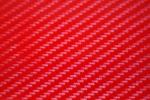 Пленка под карбон 3D Carbon Красный