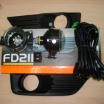 Противотуманные фары для FORD FOCUS 2003....2006г. Код FD211.