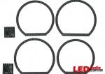 LADA PRIORA платы MI-CIRCLE NR (2 левых и 2 правых кольца + плат