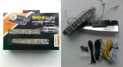 3)  Фары дневного света  DRL-160P5 Ходовые огни EGOLight
