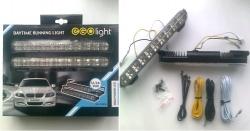 7)  Фары дневного света DRL-220P20 Ходовые огни EGOLight