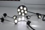 9)  Фары дневного света DRL-7D24 Ходовые огни EGOLight