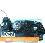 Противотуманные фары для LADA 1117 черного цвета. Код LD271E.