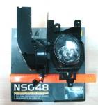 Противотуманные фары для NISSAN X-TRAIL 2003...2009. Код NS048.