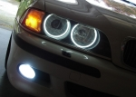 Комплект ангельских глазок неон BMW E39