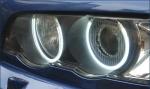 Комплект ангельских глазок неон BMW E53 Х5