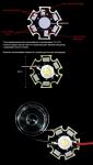 Плата алюминиевая 1P1 STAR для мощных SMD ТИП-2