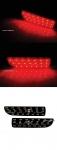 Платы катафотов (рефлекторов) заднего бампера LADA PRIORA (2 шт)